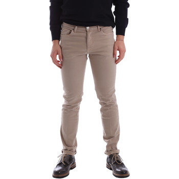 Υφασμάτινα Άνδρας Παντελόνια Πεντάτσεπα Sei3sei 02696 Μπεζ