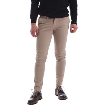 Υφασμάτινα Άνδρας Παντελόνια Chino/Carrot Sei3sei 02396 Μπεζ
