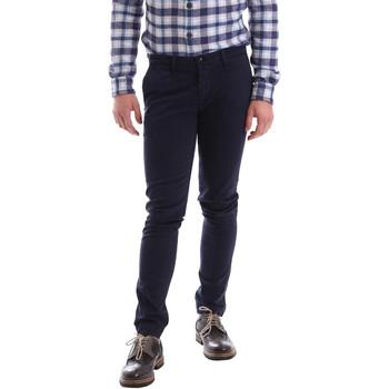Υφασμάτινα Άνδρας Παντελόνια Chino/Carrot Sei3sei 02396 Μπλε