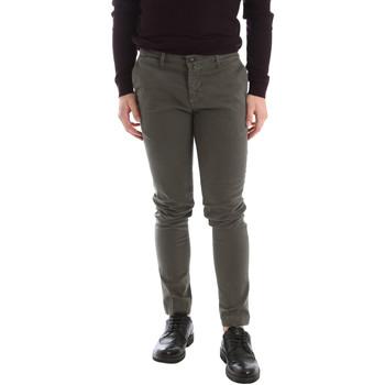 Υφασμάτινα Άνδρας Παντελόνια Chino/Carrot Sei3sei 02396 Πράσινος