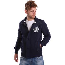 Υφασμάτινα Άνδρας Μπουφάν Key Up FGS7 0001 Μπλε