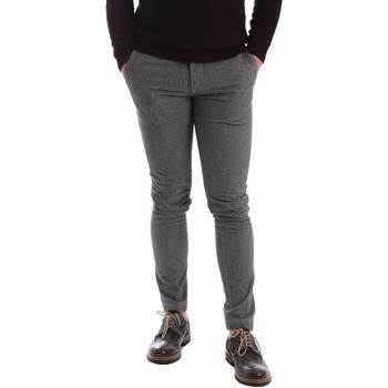 Υφασμάτινα Άνδρας Παντελόνια Chino/Carrot Sei3sei 2626 Γκρί
