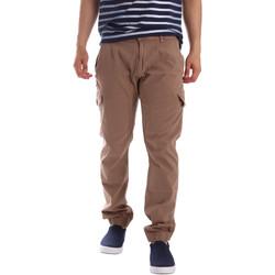 Υφασμάτινα Άνδρας παντελόνι παραλλαγής Gaudi 71BU25013 Μπεζ