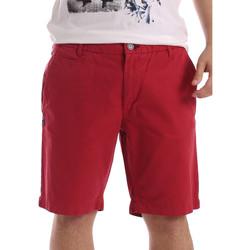 Υφασμάτινα Άνδρας Σόρτς / Βερμούδες Gaudi 71BU25028 το κόκκινο