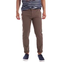 Υφασμάτινα Άνδρας Παντελόνια Chino/Carrot Gaudi 71FU25005 καφέ