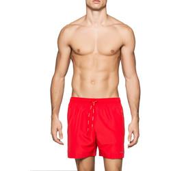 Υφασμάτινα Άνδρας Μαγιώ / shorts για την παραλία Calvin Klein Jeans KM0KM00041 το κόκκινο