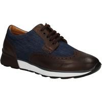 Παπούτσια Άνδρας Derby Soldini 20132 3 U72 καφέ