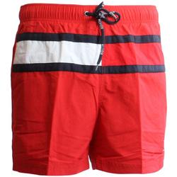 Υφασμάτινα Άνδρας Μαγιώ / shorts για την παραλία Tommy Hilfiger UM0UM00236 το κόκκινο