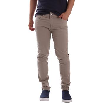 Υφασμάτινα Άνδρας Παντελόνια Chino/Carrot Sei3sei PZV17 7148 Μπεζ