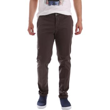 Υφασμάτινα Άνδρας Παντελόνια Chino/Carrot Sei3sei PZVI69 7148 καφέ