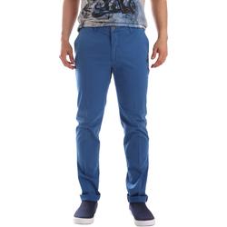 Υφασμάτινα Άνδρας Παντελόνια Chino/Carrot Sei3sei PZVI69 7148 Μπλε