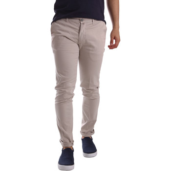 Υφασμάτινα Άνδρας Παντελόνια Chino/Carrot Sei3sei PZV21 7183 Μπεζ