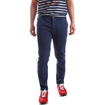 Υφασμάτινα Άνδρας Παντελόνια Chino/Carrot Sei3sei PZV20 71341 Μπλε