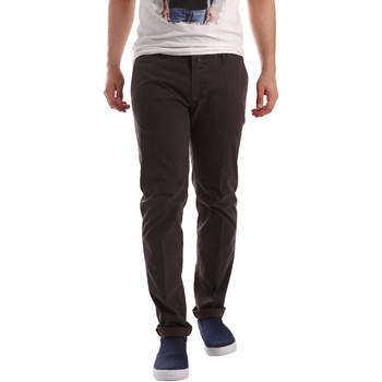 Υφασμάτινα Άνδρας Παντελόνια Chino/Carrot Sei3sei PZV20 71341 καφέ