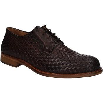 Παπούτσια Άνδρας Derby Exton 9910 καφέ
