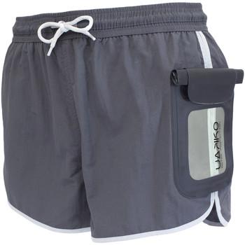 Υφασμάτινα Άνδρας Μαγιώ / shorts για την παραλία Uakko 100/002 Γκρί