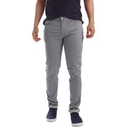 Υφασμάτινα Άνδρας Παντελόνια Πεντάτσεπα Sei3sei PZV17 71339 Μπλε