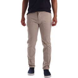 Υφασμάτινα Άνδρας Παντελόνια Chino/Carrot Sei3sei PZV20 7148 Μπεζ