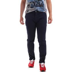 Υφασμάτινα Άνδρας Παντελόνια Chino/Carrot Sei3sei PZV20 7148 Μπλε