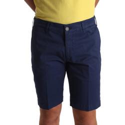 Υφασμάτινα Άνδρας Σόρτς / Βερμούδες Sei3sei PZV132 71336 Μπλε