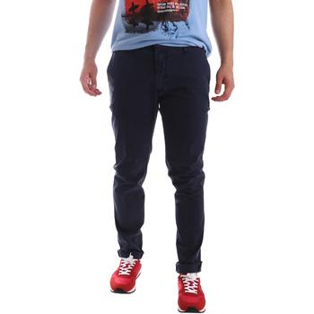 Υφασμάτινα Άνδρας Παντελόνια Chino/Carrot Sei3sei PZV156 71341 Μπλε