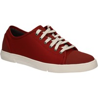 Παπούτσια Άνδρας Χαμηλά Sneakers Clarks 124230 το κόκκινο