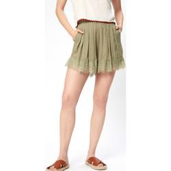 Υφασμάτινα Γυναίκα Σόρτς / Βερμούδες Pepe jeans PL800674 Πράσινος