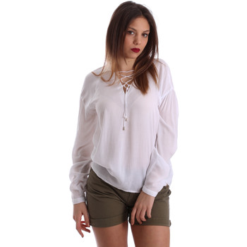 Υφασμάτινα Γυναίκα Μπλούζες Gaudi 73BD47209 λευκό