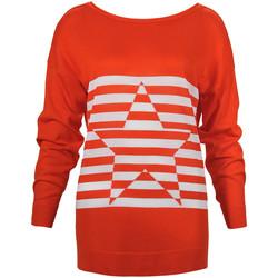 Υφασμάτινα Γυναίκα Πουλόβερ Denny Rose 73DR15013 Πορτοκάλι