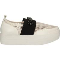 Παπούτσια Γυναίκα Slip on Solo Soprani C460 λευκό