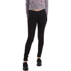 Υφασμάτινα Γυναίκα Skinny jeans Pepe jeans PL210004T412 Μαύρος