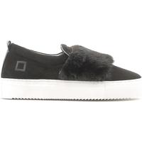 Παπούτσια Γυναίκα Slip on Date A251-SL-FU-BK Μαύρος
