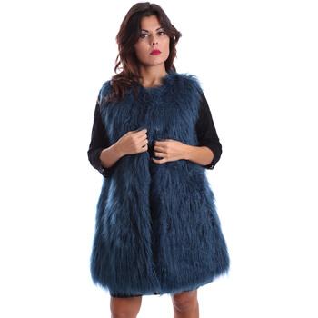 Υφασμάτινα Γυναίκα Παλτό Gazel AB.CS.GL.0001 Μπλε