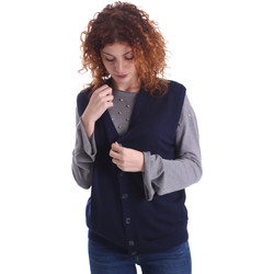 Υφασμάτινα Γυναίκα Μπουφάν / Ζακέτες Wool&co WO0004 Μπλε