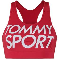 Υφασμάτινα Γυναίκα Αθλητικά μπουστάκια  Tommy Hilfiger S10S100070 το κόκκινο