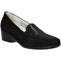 Παπούτσια Γυναίκα Μοκασσίνια Melluso R30506F Μαύρος