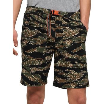 Υφασμάτινα Άνδρας Μαγιώ / shorts για την παραλία Superdry M71012TT Πράσινος