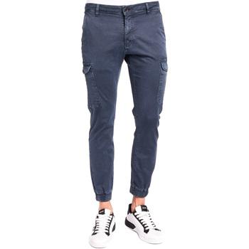 Υφασμάτινα Άνδρας παντελόνι παραλλαγής Gaudi 921BU25011 Μπλε