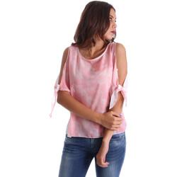 Υφασμάτινα Γυναίκα Μπλούζες Fornarina BE17T532CA11C5 Ροζ