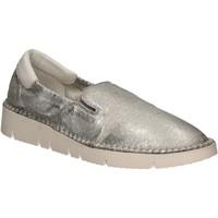 Παπούτσια Γυναίκα Slip on Keys 5075 Ασήμι