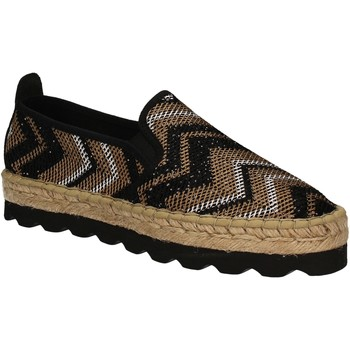 Παπούτσια Γυναίκα Εσπαντρίγια Keys 5345 Μαύρος