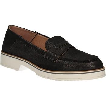 Παπούτσια Γυναίκα Μοκασσίνια Mally 5876 Μαύρος