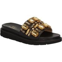 Παπούτσια Γυναίκα σαγιονάρες Byblos Blu 672102 Μαύρος