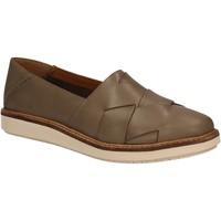 Παπούτσια Γυναίκα Slip on Clarks 123015 Πράσινος