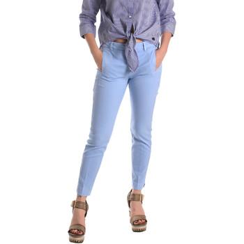 Υφασμάτινα Γυναίκα Παντελόνια Chino/Carrot Fornarina BE171L74G29118 Μπλε