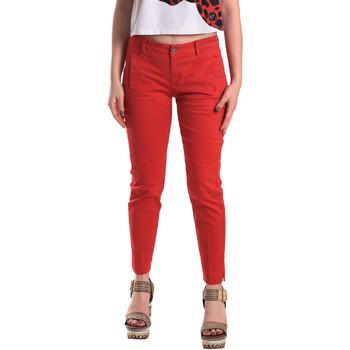 Υφασμάτινα Γυναίκα Παντελόνια Chino/Carrot Fornarina BE171L74G29176 το κόκκινο