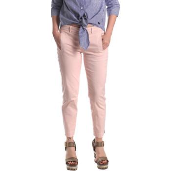 Υφασμάτινα Γυναίκα Παντελόνια Chino/Carrot Fornarina BE171L74G291C5 Ροζ