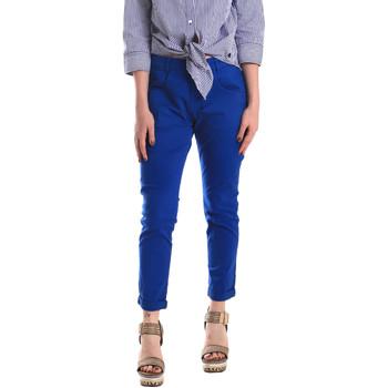 Υφασμάτινα Γυναίκα Παντελόνια Chino/Carrot Fornarina BE171L75G29112 Μπλε