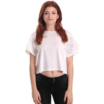 Υφασμάτινα Γυναίκα Μπλούζες Fornarina BE175J88JG1309 λευκό