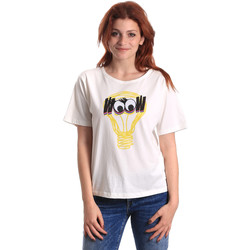 Υφασμάτινα Γυναίκα T-shirt με κοντά μανίκια Fornarina BE175L27JG1608 λευκό